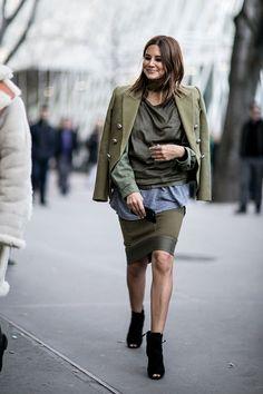 milan fashion week street style fall 2015 day 4 - Christine Centenera
