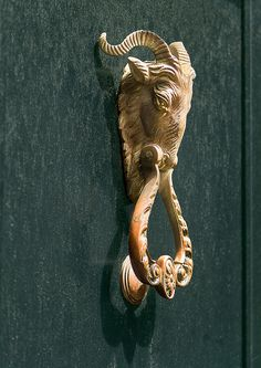 ibex door knocker | by doddsjzi