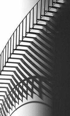 Black & White Photography Inspiration : Tank Stair BW by SCFiasco Shadow Photography, Abstract Photography, Street Photography, Shadow Silhouette, Shadow Art, Shadow Play, Stairway To Heaven, Black N White Images, Light And Shadow