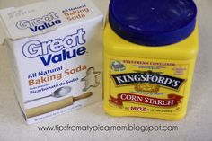 Better Than Salt Dough (Homemade Clay for Ornaments or Handprints) Better Than Salt Dough cup cornstarch 1 cup baking soda cup water, Stir over medium heat. Bake finished clay projects in 175 degrees F for an hour (flip 'em over after 30 minu Crafts To Do, Holiday Crafts, Crafts For Kids, Baby Crafts, Homemade Ornaments, Homemade Gifts, Clay Ornaments, Ornaments Recipe, Diy Gifts