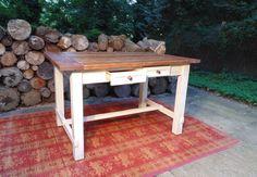 Reclaimed Wood Farmhouse Trestle Project by WonderlandWoodworks, $650.00