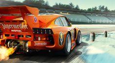 Porsche 935 K3 Jägermeister. Check out Facebook and Instagram: @metalroadstudio Very cool!
