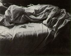 Imogen Cunningham, The unmade bed,1957