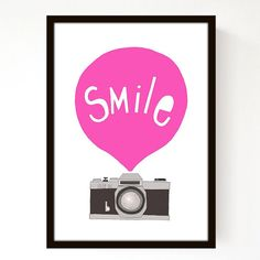 {no more blank walls} Smile!