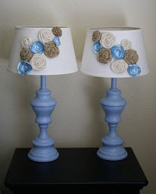 I'm sure you remember these lamps, since I just posted about finding them last  week! I have been looking for months for some new lamps fo...