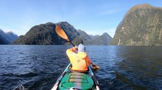 """@bemoreoutdoor shared a photo on Instagram: """"When in doubt, kayak it out #doubtfulsound #newzealand * * * Photo by 📸 @mauritssimons Model: @laurinaa_ * * * #bemoreoutdoor…"""" • Nov 5, 2020 at 6:30am UTC Surfboard, Kayaking, New Zealand, Model, Inspiration, Outdoor, Instagram, Biblical Inspiration, Outdoors"""