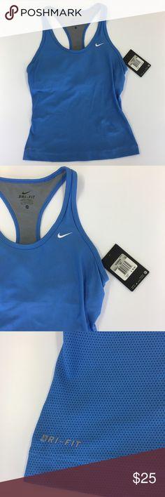 NWT Nike Dri-Fit Tank Size XSmall Brand new Nike dri-fit tank with built in sports bra. Nike Tops Tank Tops