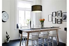Estilo escandinavo: 10 comedores inspiradores - Living - ESPACIO LIVING