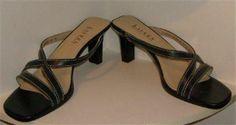 Lauren Ralph Lauren Navy Leather Crawford Strappy Slides Shoes sz 8B http://www.ebay.com/itm/251392056183?ssPageName=STRK:MESELX:IT&_trksid=p3984.m1555.l2649