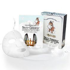Elizavecca Milky Piggy Silky Creamy Donkey Steam Cream Mask Pack (25ml x 10ea)            Features  Strong moisturizing cream containing a donkey milk  water-cream pack Shine & maintains skin texture & moisturizing & skin nutrition &skin e