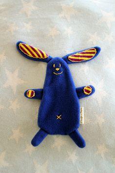 coniglio doudou blu