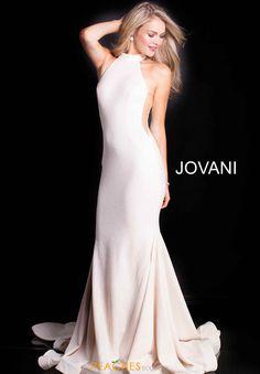 Jovani Long Halter Dress 55185