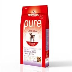 Meradog Pure Lamp rise Sport n Dog Packing, Pure Products, Dog, Sports, Lamb, Rice, Pet Dogs, Bag Packaging, Diy Dog