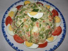 charlotte de macédoine au crabe