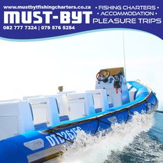 Join us for an incredible day out at sea. Experience the like you've never seen it! Visit our website for more information. Inflatable Boat, Fishing Charters, Deep Sea Fishing, Days Out, South Africa, Competition, Scenery, Coast, Join