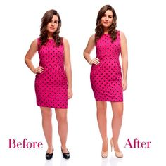 how to look slimmer
