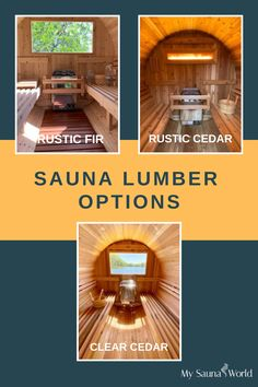 Take a closer look at the available sauna lumber options from Almost Heaven, and choose the one that matches your needs and preferences. These lumber options are all available in both indoor and outdoor models. Click here to check our sauna collections! Indoor Sauna, Traditional Saunas, Low Humidity, Closer, Heaven, Collections, Models, Check, Outdoor