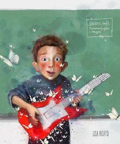 Lisa, Cute Little Drawings, Childhood Toys, Sound Of Music, Funny Art, Design Tutorials, Kids And Parenting, Illustration Art, Art Illustrations