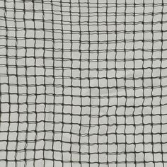 Raw knotted netting materials for all purposed. Purchase netting by the square foot for sports, pest control, or visual barriers.