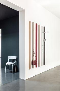 #kapstok #interior #design #garderobe #simple #colors #choose #furniture