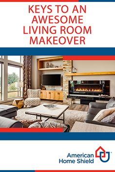 Get the keys to an awesome living room makeover and learn how you can enter for your chance to win a $500 gift card! It's the American Home Shield® Dream Upgrade Sweepstakes and we want to help you make your dreams a reality! #DreamUpgradeSweepstakes https://ahs.com/dreamupgrade
