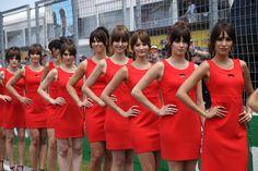 F1-es gridgirl-ök 2017-ből. A többi képért klikk a Megnyitás gombra! Fotó: Tóth Zsombor