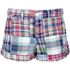 POLO RALPH LAUREN checked shorts (€52) ❤ liked on Polyvore featuring shorts, bottoms, polo ralph lauren shorts, polo ralph lauren, cotton shorts and checkered shorts