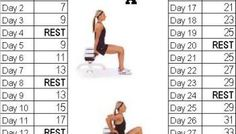 Fitness challenge: 30 Day Tricep Dip Challenge