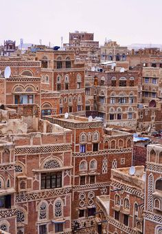 Yemen is in a state of turmoil and extremely unsafe to visit, but it's a country of beauty. I hope that things calm down within my lifetime. Sana'a, Yemen