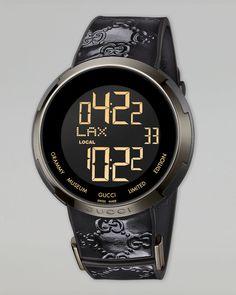 Digital Watch, Black_Gucci