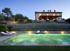 Rosewood Castiglion Del Bosco Montalcino, Italy sky structure swimming pool sport venue reflecting pool lawn Garden pond park stadium Resort mansion