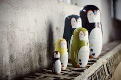 Matroschka überall oder: hier kommen die Pinguine!