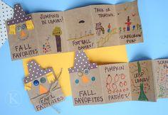 Scarecrow Crafts for Kids ...pumpkin activities for kids {Weekend Links} from HowToHomeschoolMyChild.com