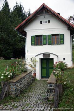 Burgenland, Austria Austria, Places Ive Been, Places To Go, Vienna Woods, Unique Buildings, Cottage Homes, Tiny Homes, Homeland, Ancestry