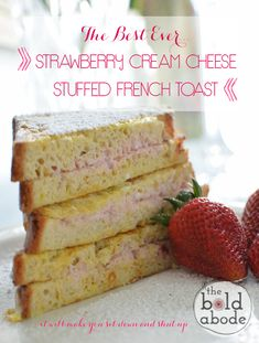This french toast will make you sit down and shut up... it's divine!!!