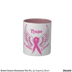 Breast Cancer Awareness Two Tone Mug