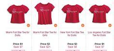 American Girl Cyber Monday Deals 2014 Row 14 Screenshot