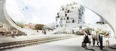 Gallery of Henning Larsen Wins Competition for Future Vinge Train Station in Denmark - 1
