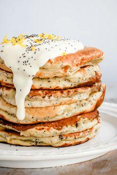 Think Food, Love Food, Pancakes Vegan, Protein Pancakes, Vegetarian Recipes, Cooking Recipes, Keto Recipes, Fish Recipes, Crockpot Recipes