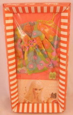 """1970 Barbie """"Flower Wower"""" fashion ... I still have some of these barbie clothes!!!"""