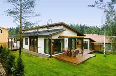 Holiday Home in Finland Style At Home, Small House Renovation, Compact House, Tiny Spaces, Home Fashion, Interior And Exterior, House Plans, Home And Garden, Cottage