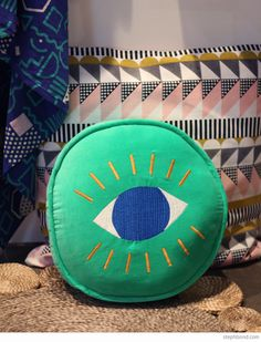 Bondville: 10 products to watch from Sydney Kids InStyle 2015 - Arro Home eye cushion