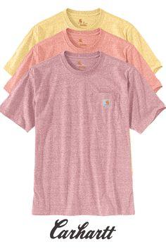 Carhartt Core Logo Workwear Short-Sleeve T-Shirt Uomo