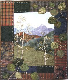 Aspen Grove pattern by Cindy Notarianni Swainson, Columbine Designs