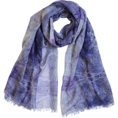 MEDLEY CREATIONS Soldiers' Fortune Scarf ($145) ❤ liked on Polyvore featuring accessories, scarves and wrap shawl