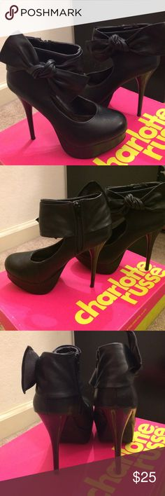 Vick Bow *considered offers are welcome Charlotte Russe Shoes Platforms