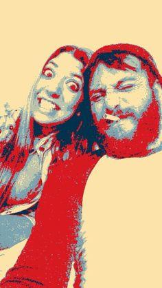 beard fun girlfriend