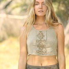 Our Acacia Tops have just been restocked! 🌸 Pixie clothing, Fairy Clothing, Festival Outfit, Festival Clothing, hippie clothing, gypsy clothing, goa clothing, edm, rave clothing, psytrance clothing, boho clothing, faerie clothing burning man clothing, tribal clothing, Nature Spirit on Etsy, Halter Top, Crop Top, Festival Top, Raw Cotton, Fair Trade