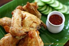 crispy balinese fried chicken