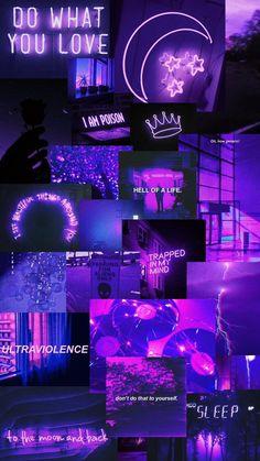Purple Wallpaper Iphone, Neon Wallpaper, Cute Patterns Wallpaper, Wallpaper Lockscreen, Iphone Wallpaper Tumblr Aesthetic, Aesthetic Pastel Wallpaper, Aesthetic Wallpapers, Dark Purple Wallpaper, Bad Girl Wallpaper